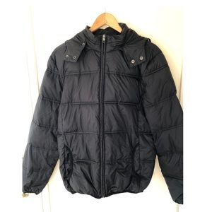 French connection black puffer jacket